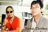 Penulis Bersama Krisyanto Djani (vokalis Jamrud) di De Patros Cafe beberapa waktu lalu.