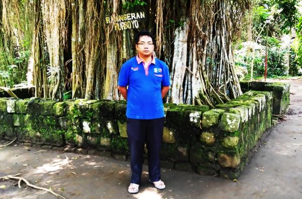 Saya saat berada di kawasan Gunung Tidar Kotamadya Magelang Provinsi Jawa Tengah Indonesia