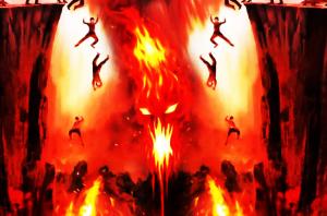 Ilustrasi neraka