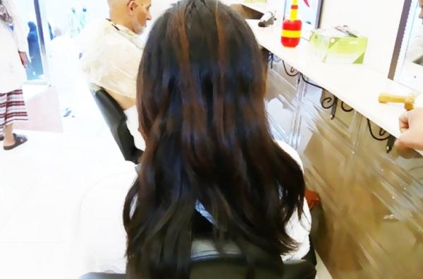 Rambut wangi aroma kiswah Kabah milik C. Prasetia, jemaah biro umrah dan haji PT. Nettour Batam